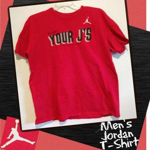 Nike Shirts - Air Jordan Basketball Cotton Short Sleeve T-Shirt
